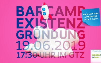 """Einladung zum """"Barcamp Existenzgründung"""""""