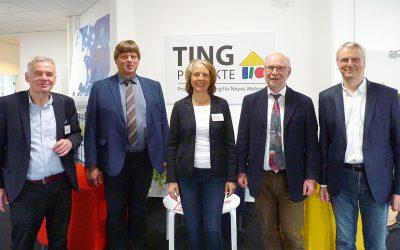 Unternehmerfrühstück bei TING Projekte im GTZ in Schwentinental