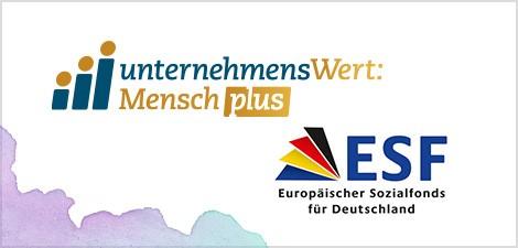 Logo UnternehmensWert: Mensch plus