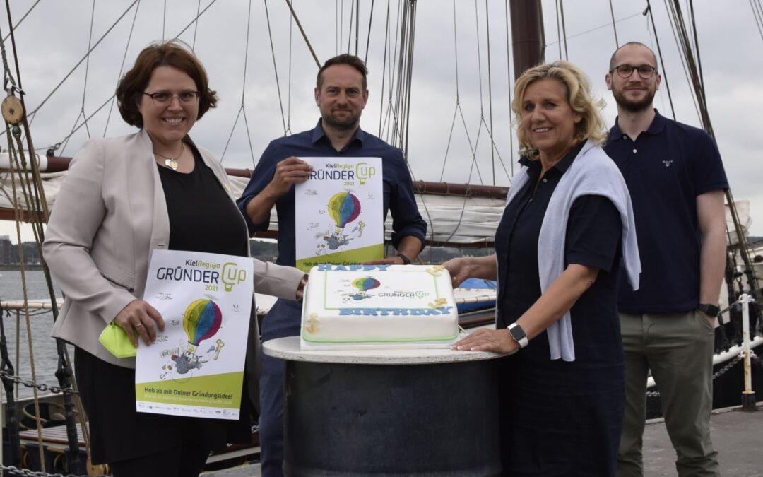 Der GründerCup KielRegion: 18 Jahre Rückenwind für Startups