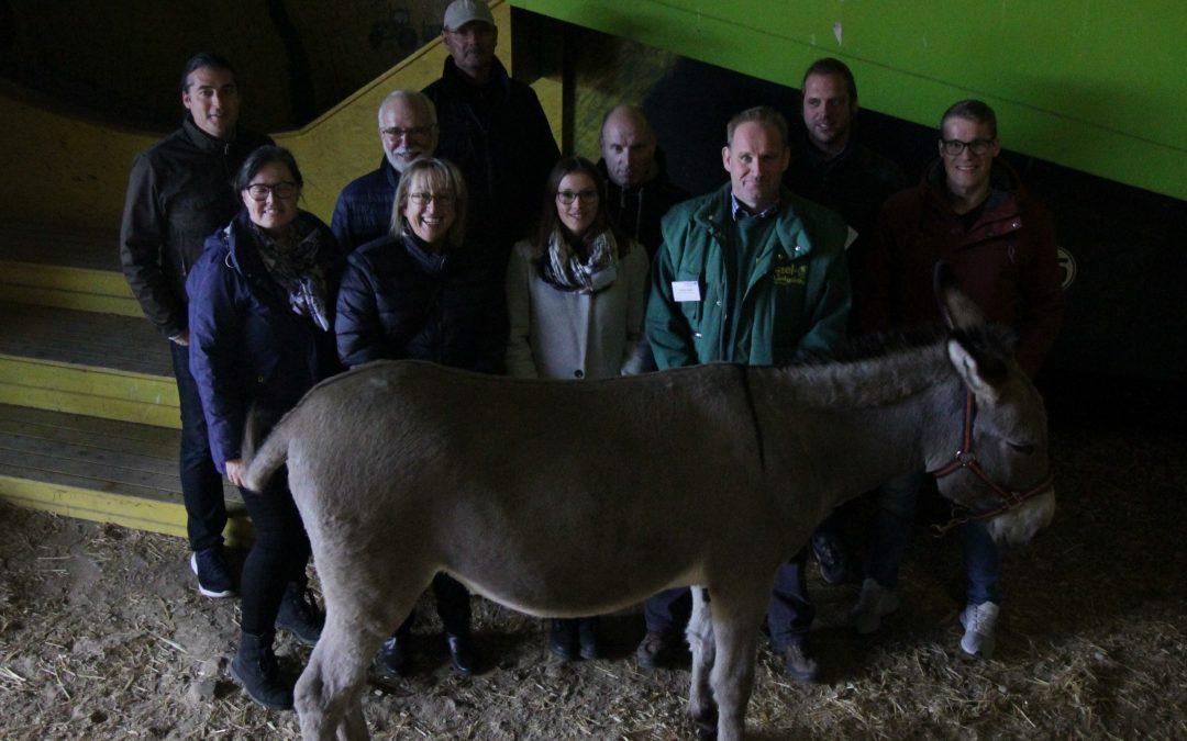 Exkursion: Deutsche und dänische Akteure tauschten sich zu den Themen Wassersport und Tiererlebnis aus
