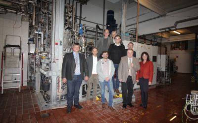 Nahwärmenetz zur klimaneutralen Versorgung mit Abwärme in Schwentinental gestartet