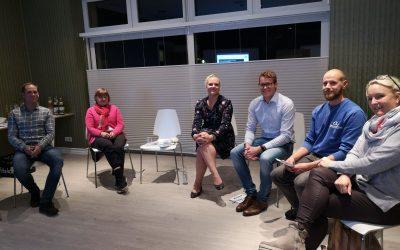 2. Treffen des Unternehmensnetzwerkes in der Gemeinde Stein