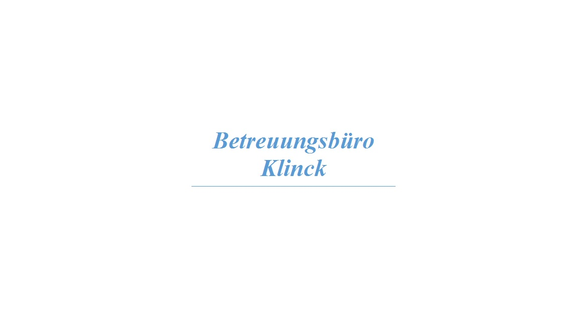 Betreuungsbüro Klinck